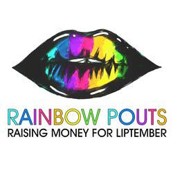 Rainbow pouts liptember logo small